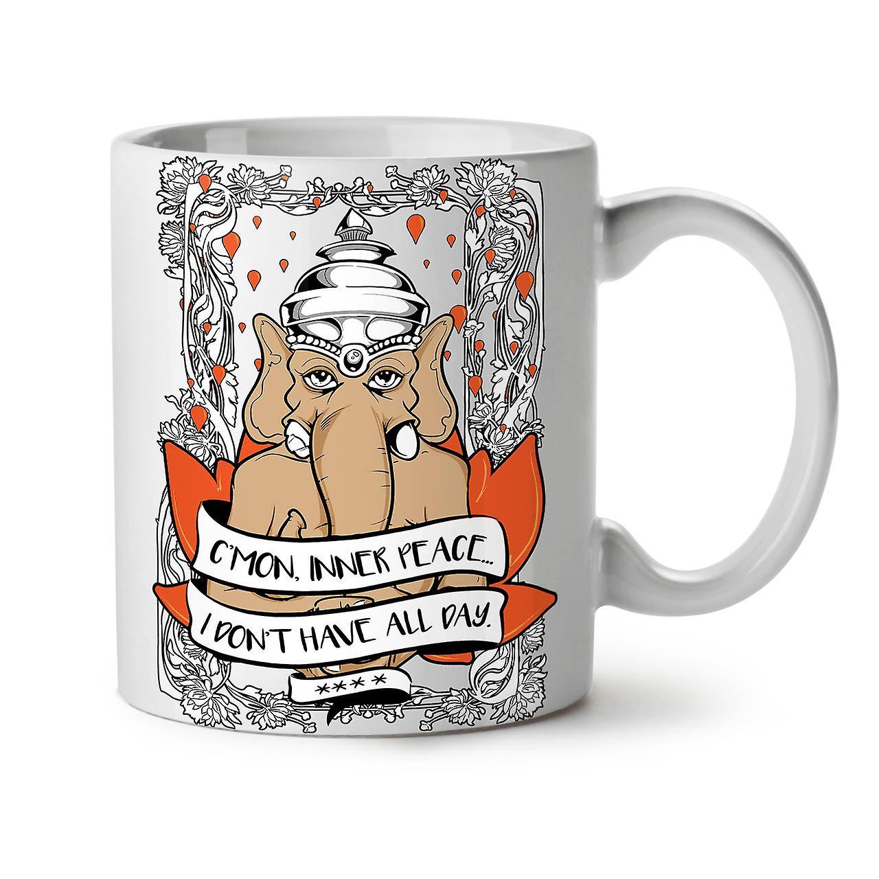 Céramique Nouveau Tasse De Elephant Jour OzWellcoda Café Intérieur 11 Thé Blanc Drôle OXiTwkuPZ