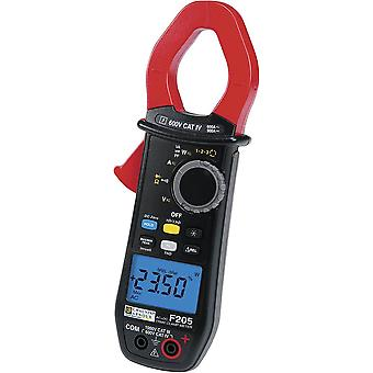Clamp meter, Handheld multimeter Digital Chauvin Arnoux F205 Calibrated to: Manufacturer's standards (no certificate) C