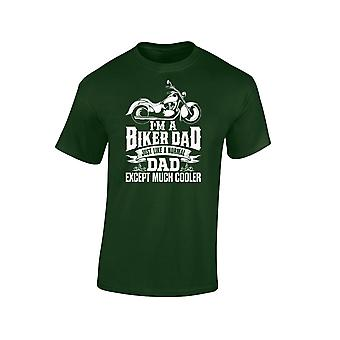 I'm A Biker Dad Except Much Cooler Mens T-Shirt 10 Colours (S-3XL) by swagwear
