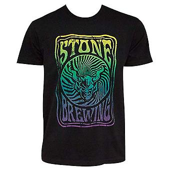 Stone Brewing Co. Groovy mænds sort T-shirt