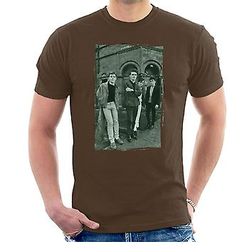 The Smiths In Manchester At Salford Lads Club Distressed Frame Men's T-Shirt