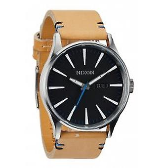 Nixon The Sentry Leather Natural / Black (A1051602)