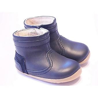 Bobux Bolt Navgy Blue Barefoot Ankle Boot | Bobux Bolt Size UK3 / EU19