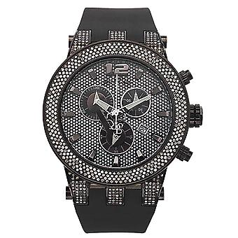 Joe Rodeo diamond men's watch - BROADWAY black 5 ctw