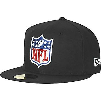 New era 59Fifty Fitted Cap - NFL SHIELD logo black