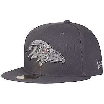 Ny æra 59Fifty Cap - grafitt Baltimore Ravens