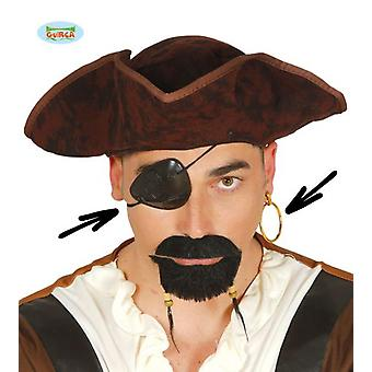 Guirca Patch And Pirate Earrings (Babies and Children , Costumes)