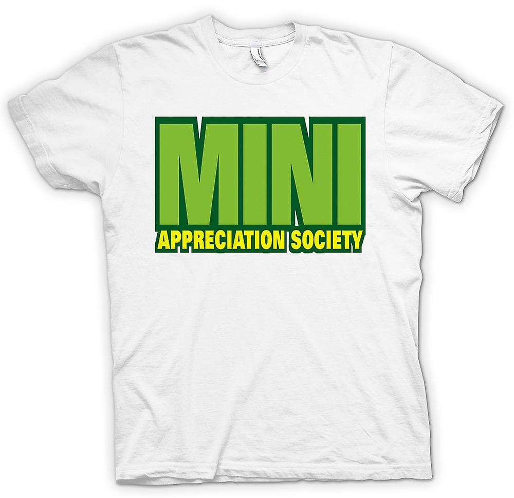 Herr T-shirt-Mini Appreciation Society
