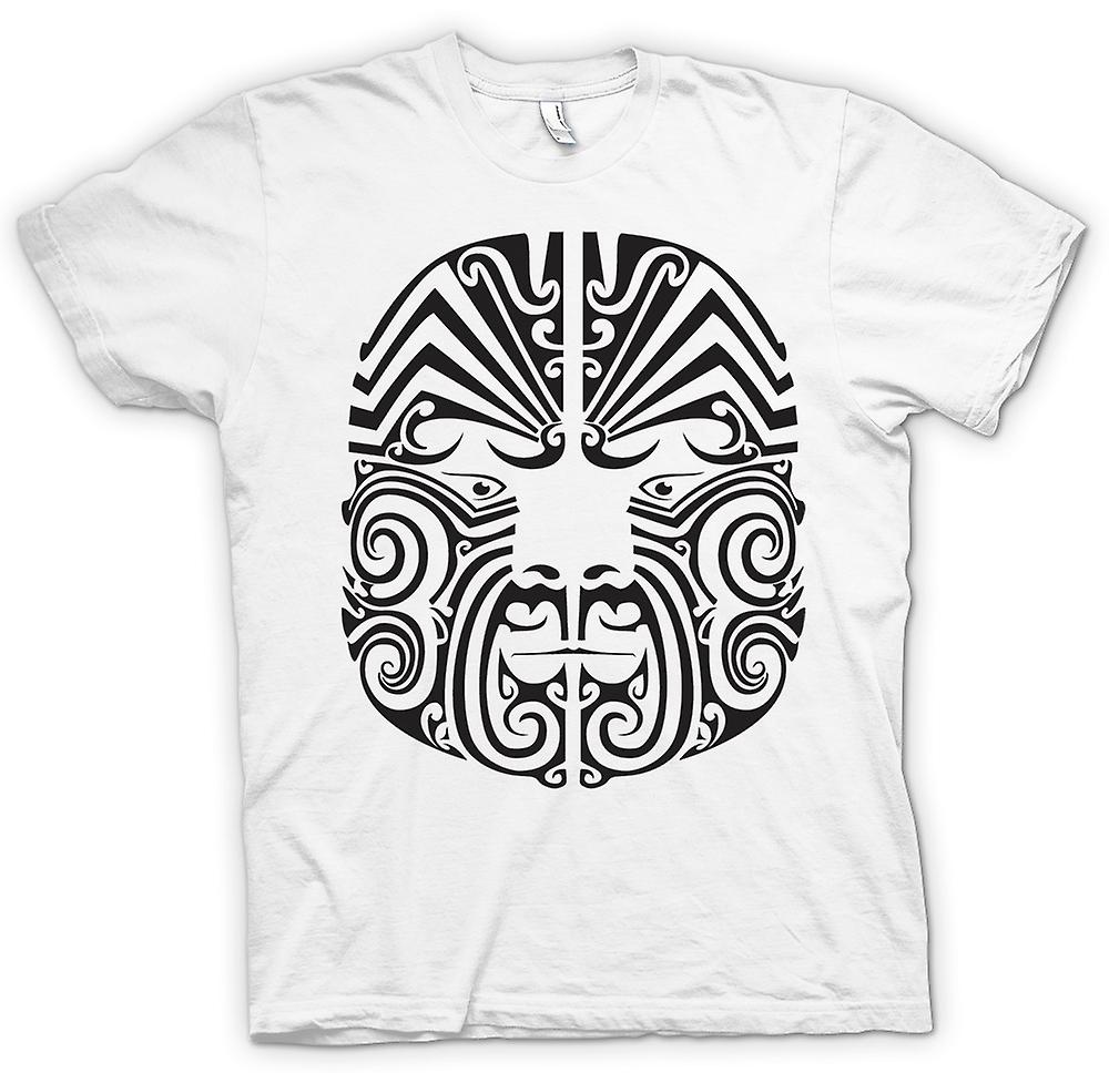 T-shirt-Mauri Tribal Tattoo Design
