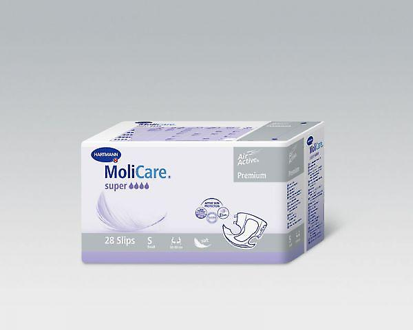 Molicare Softsuper | Medium | Unisex All-in-1 Incontinence Pads | Pack Of 28