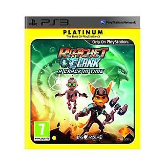 Ratchet et Clank A Crack in Time - Platinum Edition (PS3)