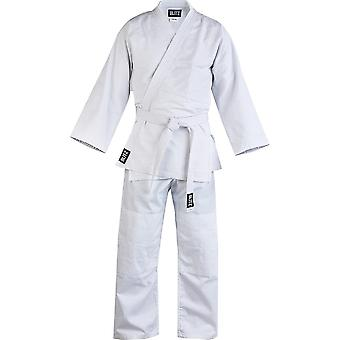 Blitz Sports Kids Polycotton Lightweight Student Judo Suit - White