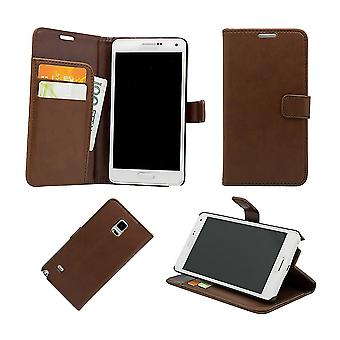 Leather case/wallet-Samsung Galaxy Note 4