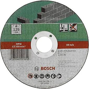 Taglio disco (dritto) 125 mm 22,23 mm Bosch Accessori C 30 S BF 2609256329 1/PC