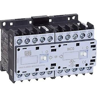 Reversing contactor 1 pc(s) CWCI07-01-30C03 WEG 6 makers 3 kW 24 Vdc 7 A + auxiliary contact