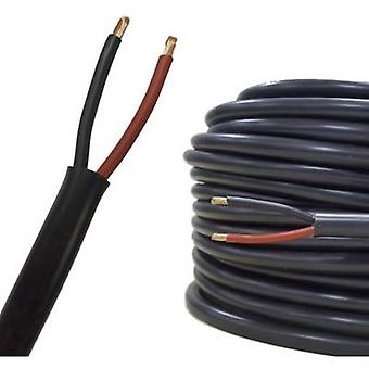 Speaker cable FLRYY 2 x 0.75 mm² Red, Black AIV
