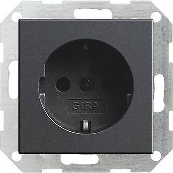 GIRA invoegen PG socket systeem 55, standaard 55, E2, gebeurtenis, gebeurtenis BodyGuardz, gebeurtenis ondoorzichtig, Esprit, ClassiX antraciet 018828