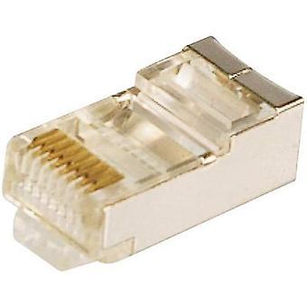 LogiLink MP0003 RJ45 Plug, straight Silver