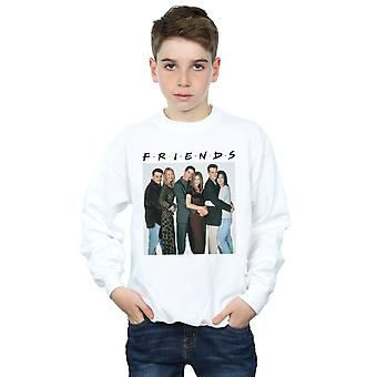 Friends Boys Group Photo Hugs Sweatshirt