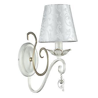 Maytoni iluminación Monile elegante lámpara de pared, oro blanco