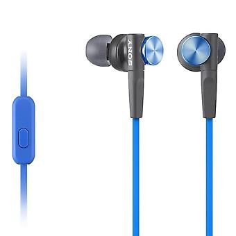 Sony MDR-XB50APL Blue Extra Bass Hand-Free Earphone/Headphone