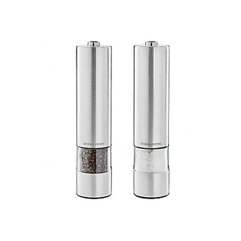 Andrew James Electric Salt And Pepper Mill Set