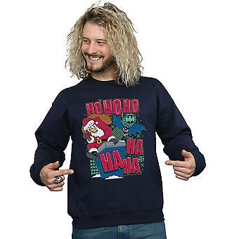 DC Comics Männer Batman und Joker Ha Ha Ha Ho-Ho-Ho-Sweatshirt