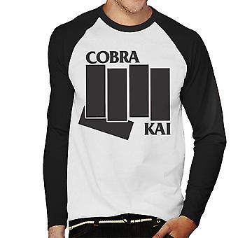 Cobra Kai Black Flag Men's Baseball Long Sleeved T-Shirt