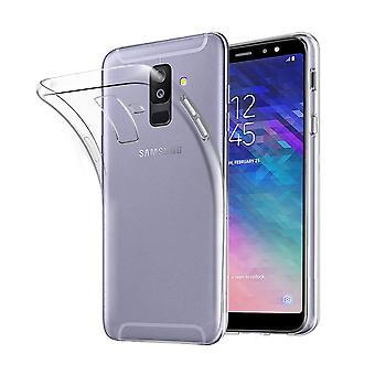 Samsung Galaxy A6+ Plus 2018 Transparent Case Hülle Silikon