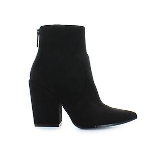 KENDALL AND KYLIE BLACK SUEDE FIRE BOOT