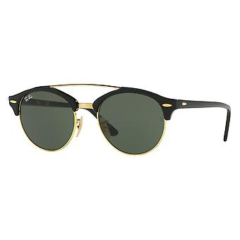 Ray - Ban Clubround doble puente negro G-15