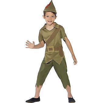 Robin Hood kostium, duży 10-12 lat