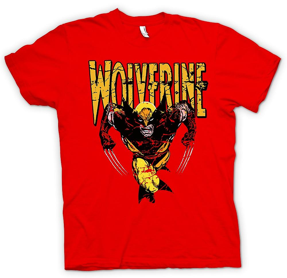 Mens T-shirt - Wolverine - Classic Comic Hero