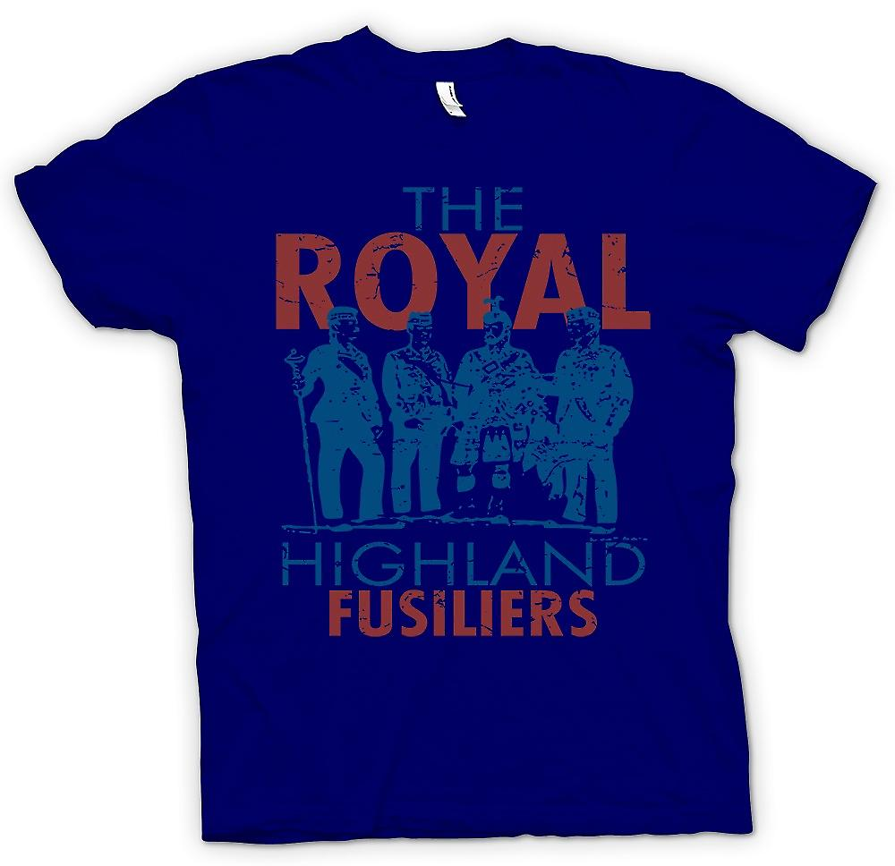 Mens T-shirt - The Royal Highland Fusiliers - British Army