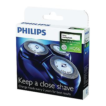 3-Pack Philips shaving head HQ56 Series