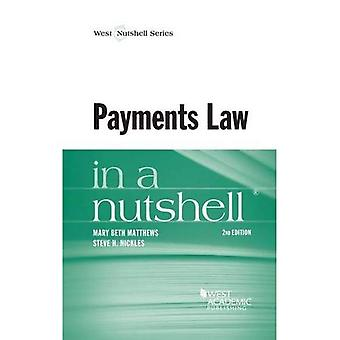 Payments Law in a Nutshell (Nutshell Series)