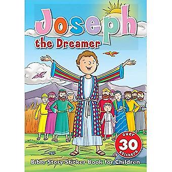 Joseph de drömmare klistermärke bok