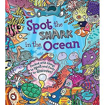 Spot the Shark in the Ocean