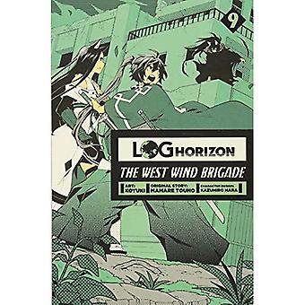 Log Horizon: The West Wind� Brigade, Vol. 9