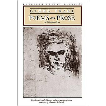 Poems and Prose - A Bilingual Edition by Georg Trakl - 9780810120068 B