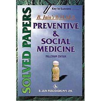 Preventive & Social Medicine (Solved Paper) by B. Jain - 978818056089