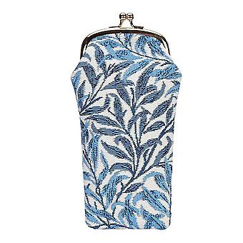William morris willow bough glasses pouch by signare tapestry / gpch-wiow