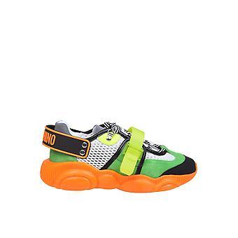 Moschino sneakers de poliéster multicolor