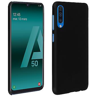 Samsung Galaxy A50 Hard Shock Resistant Soft Touch Hard Case - Frosted Black