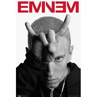 Eminem chifres Poster Maxi 61x91.5cm