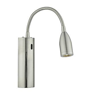 Bjorn Wall Light Led Satin Chrome