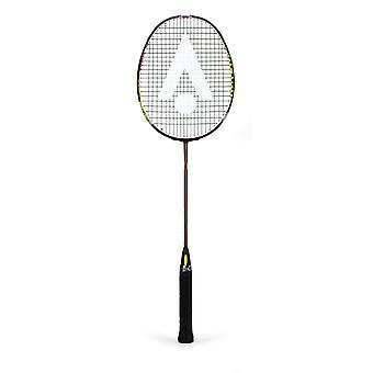 Karakal Black Zone Pro Badminton Racket Fast Fibre Titanium Gel Power Head Frame
