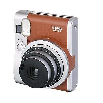 Fujifilm instax mini 90 neo classic instant brown color camera