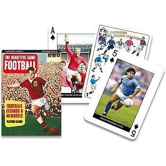 Football Legends set of playing cards    (gib)