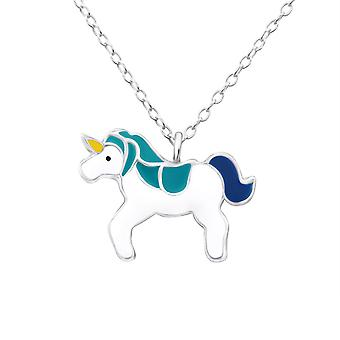 Unicorn - 925 Sterling Silver Necklaces - W24419X